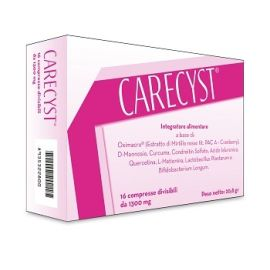 Carecyst 16 Compresse Divisibili Da 1300 Mg