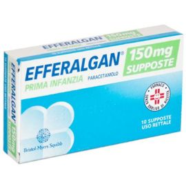 Efferalgan - Prima Infanzia 150 Mg Supposte 10 Supposte